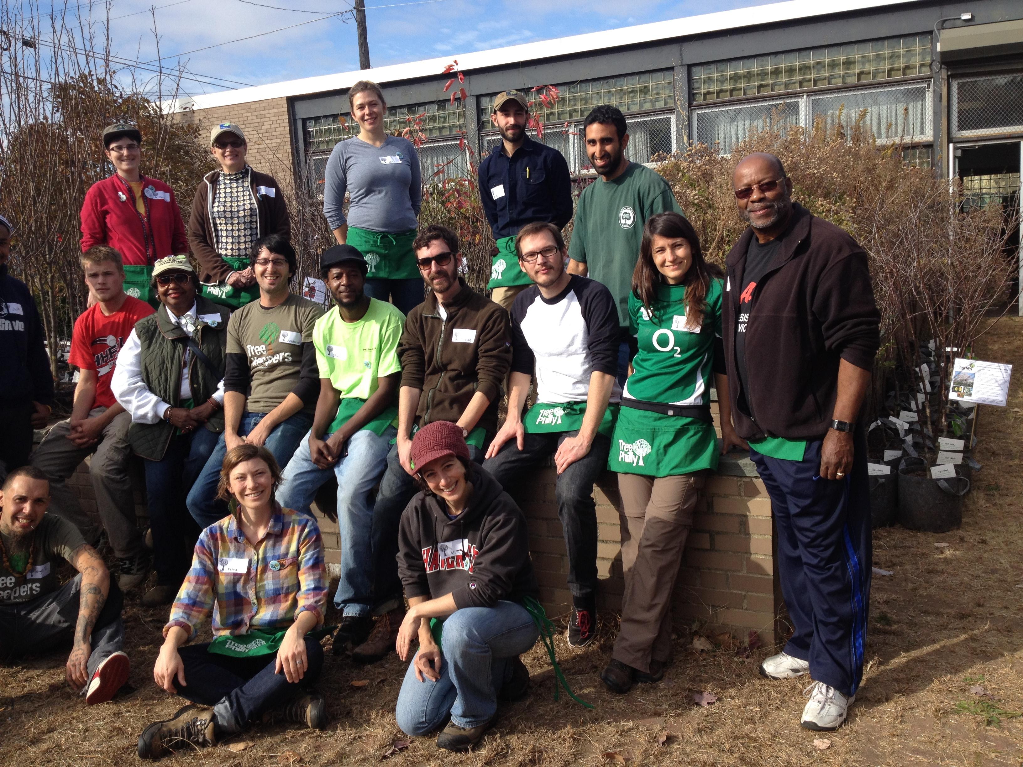 F13 West Oak Lane 11.17 - the volunteers